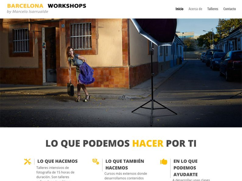 Barcelona Workshops